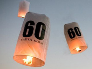 Earth Hour noen?