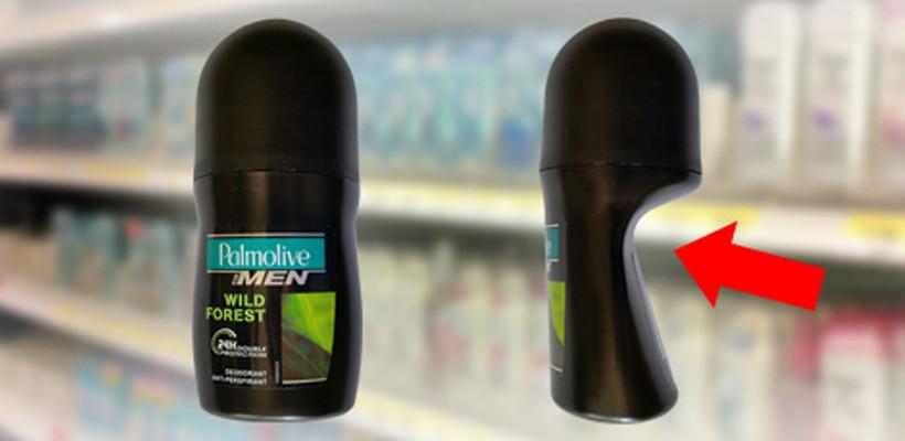 En fasade av deodoranter og lureri