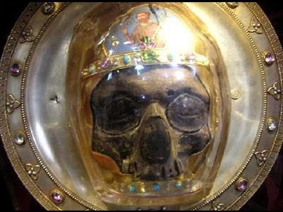 Et av hodene til Johannes døperen.